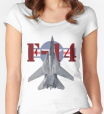 F-14 Tomcat Women's Fitted Scoop T-Shirt