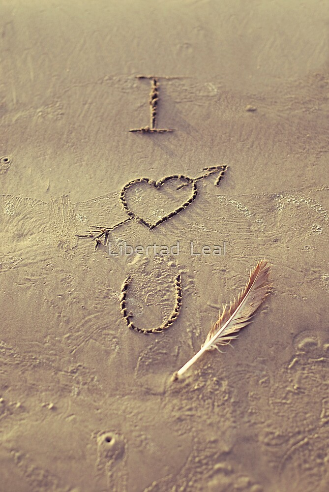 I Love You by Libertad  Leal