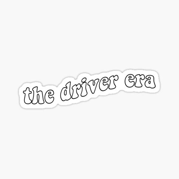 la era del conductor Pegatina