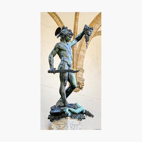 Florence - Perseus and Medusa Photographic Print