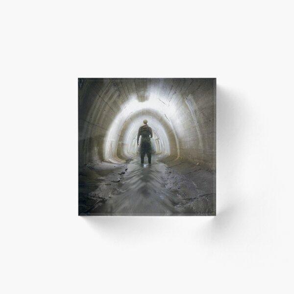 Tunnel, Canal tunnel Acrylic Block