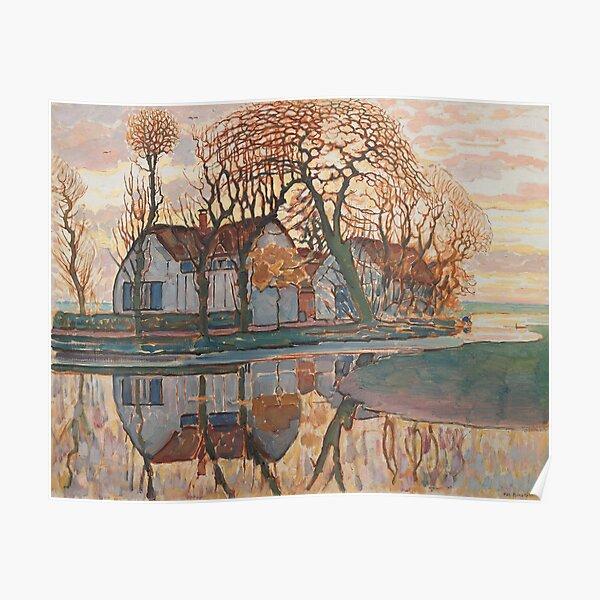 Farm near Duivendrecht (1916) by Piet Mondrian Poster