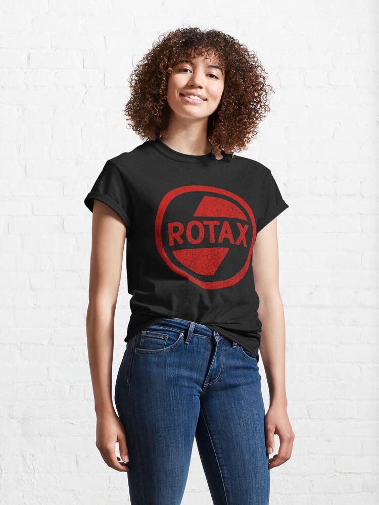 Alternate view of Rotax Motors Classic T-Shirt