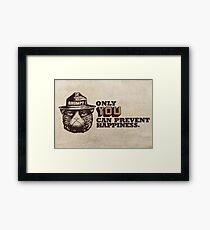 Grumpy PSA Framed Print