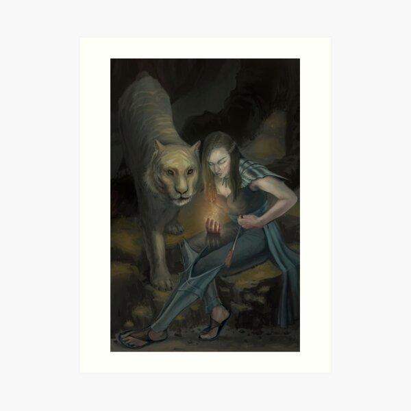 The Druid Art Print