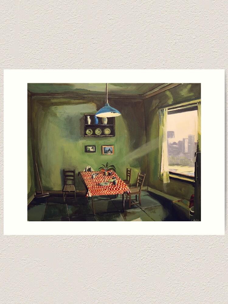 Alternate view of Dying Light Art Print