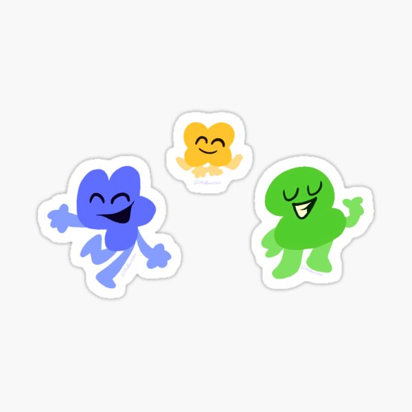 Two Four and X pack (Lineless) Sticker