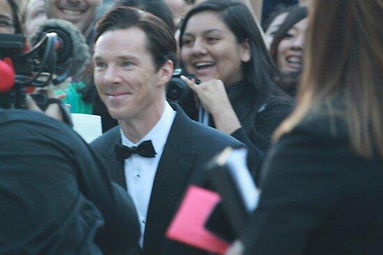 Benedict Cumberbatch at Toronto International Film Festival 2013 by nothingtosay18