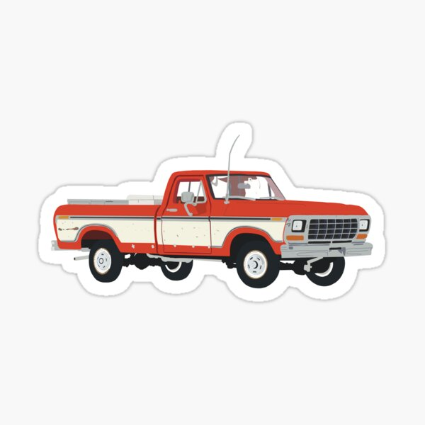 Walton Truck Sticker