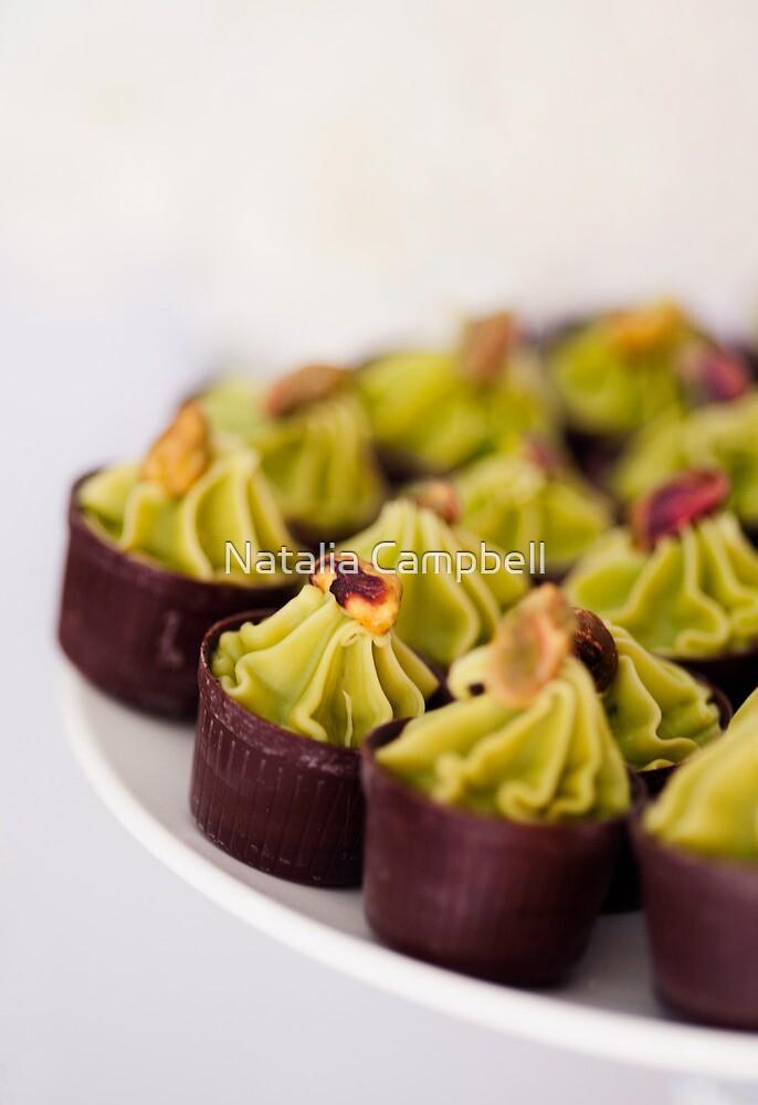 .pistachio mousse. by Natalia Campbell
