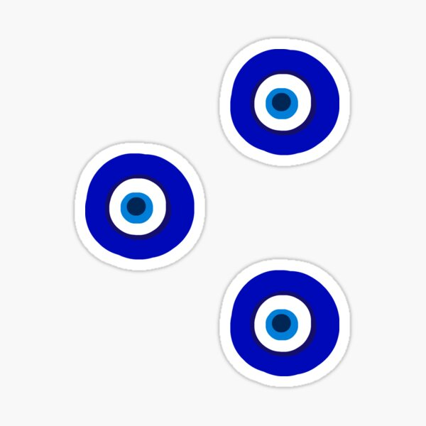 evil eye trio Sticker