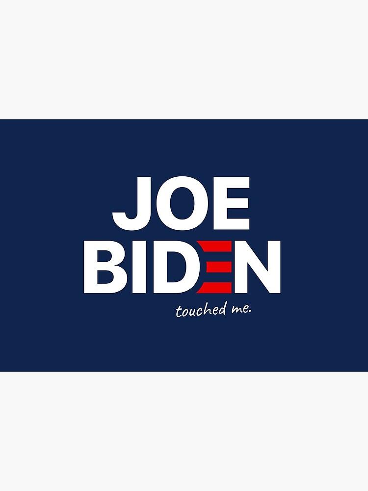 Joe Biden Touched me Funny Mask by bidenparodies