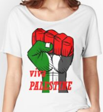 Free palestine! Women's Relaxed Fit T-Shirt