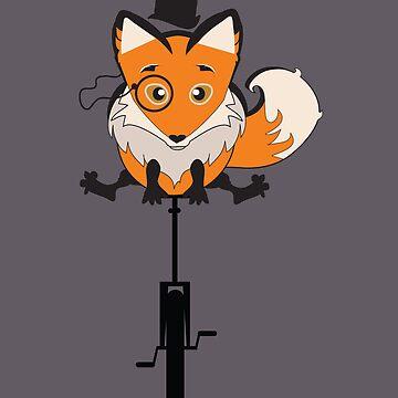 Foxy Cycle by PoetElise