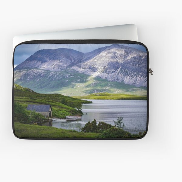 Boat House on the Loch  Laptop Sleeve