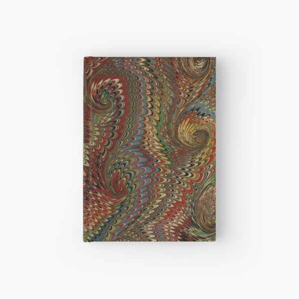 Marbled paper Hardcover Journal