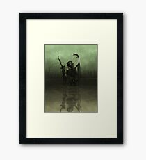 Deathknight Framed Print