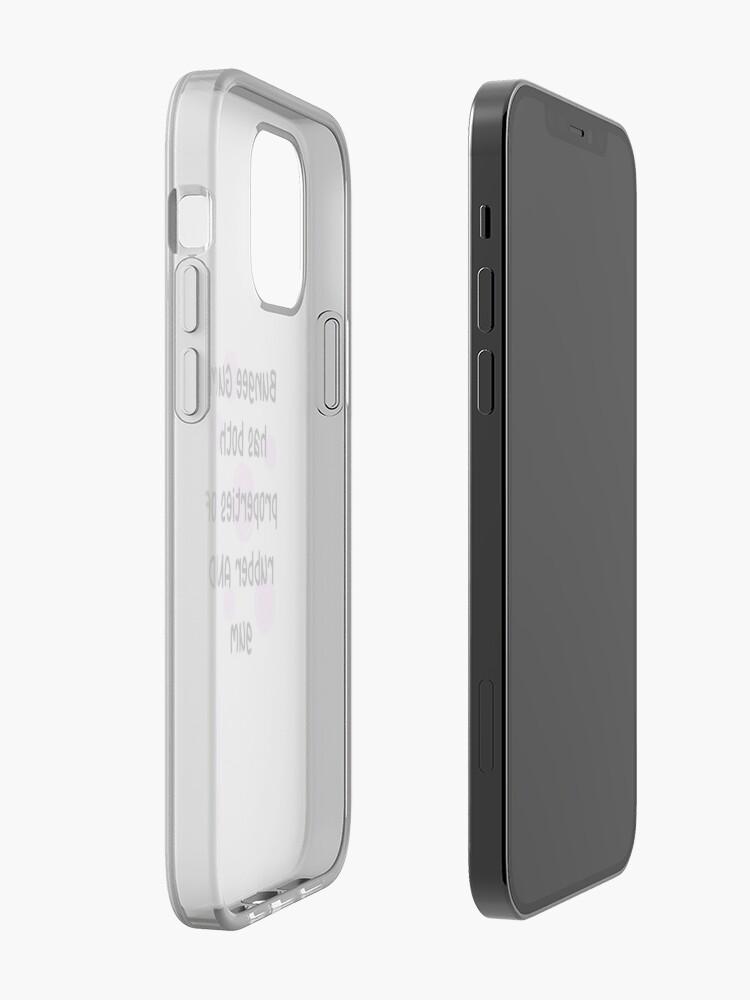 Gomme élastique   Coque iPhone
