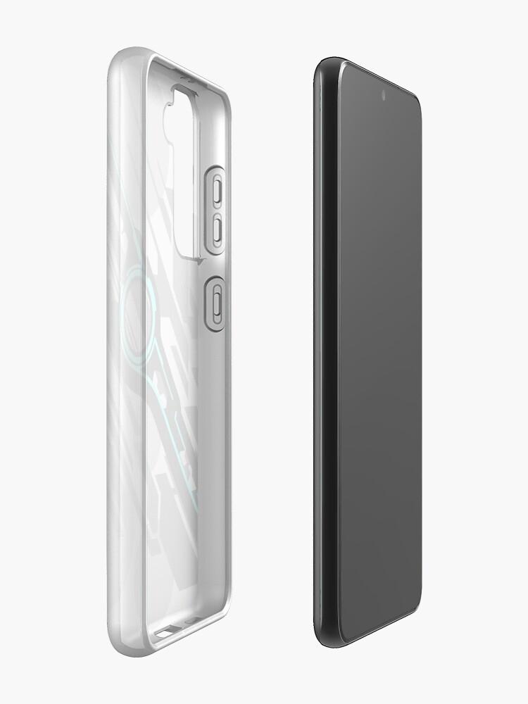Alternate view of Monado Abstract (Grey) Case & Skin for Samsung Galaxy