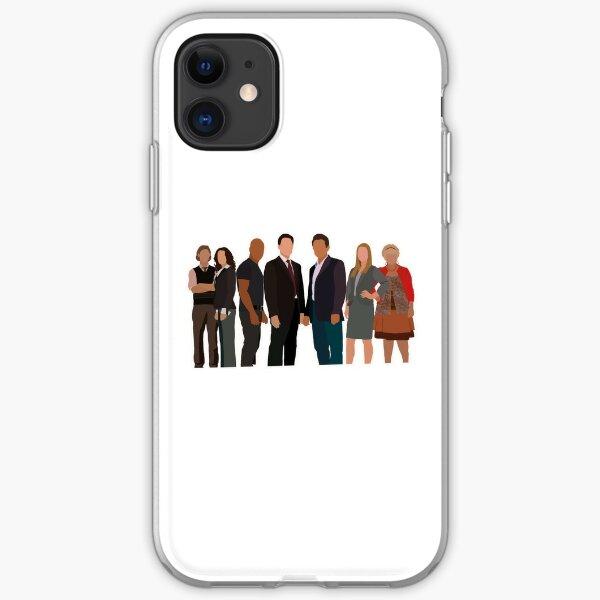 Criminal Minds Minimalistic iPhone Soft Case