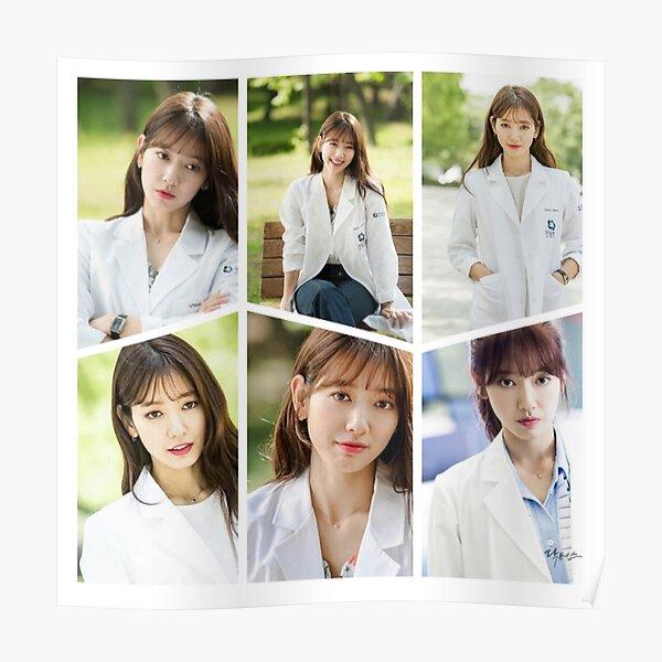 Park Shin Hye Beautiful Collage  Poster