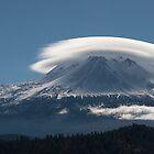 Altocumulus Lenticularis Over Mt Shasta by RubenGarciaJr