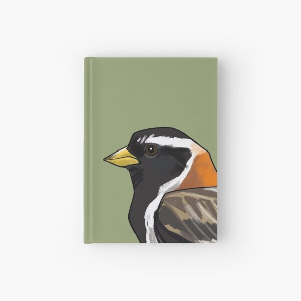 Lapland Bunting Hardcover Journal
