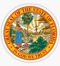 Florida | State Seal | SteezeFactory.com Sticker