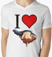 I <3 Skywhale Men's V-Neck T-Shirt