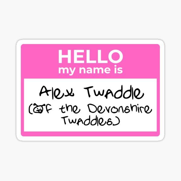 Hello My Name Is (Alex) Sticker