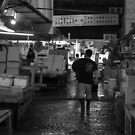 Tsukiji Fish Market - Tokyo by Colin  Ewington