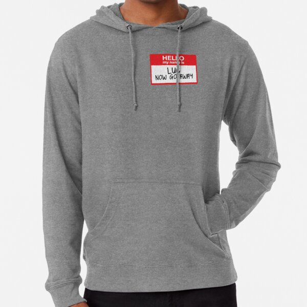 Hello My Name Is (Luc) Lightweight Hoodie