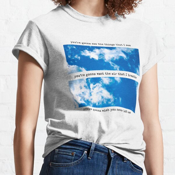 One Direction 'Clouds' Fotodesign Classic T-Shirt