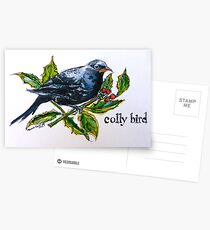 Colly. ('Four colly birds'...) The 'Twelve days of Christmas'. Postcards