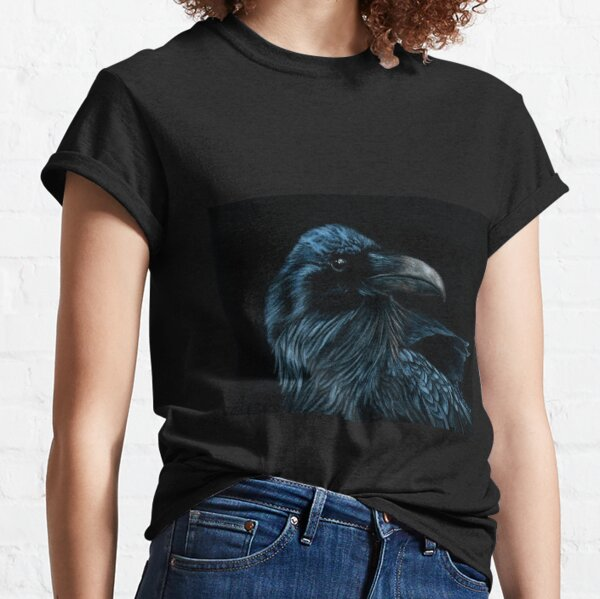 The Raven Portrait Classic T-Shirt