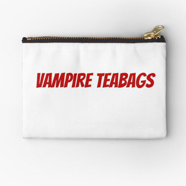 Vampire Teabags Tampon Zipper Pouch