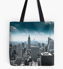 Empire state building and its surrounds, Manhatten, NYC 2012 Tote Bag