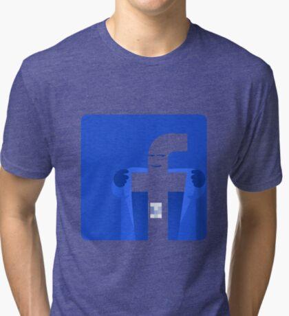Universal Unbranding - Exhibitionism Tri-blend T-Shirt