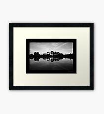 Fairways Village Lake, Craigieburn Framed Print
