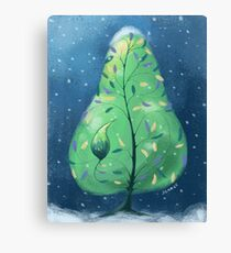 Partridge in a Pear Tree Canvas Print