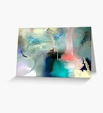 Superimposed Surface Greeting Card