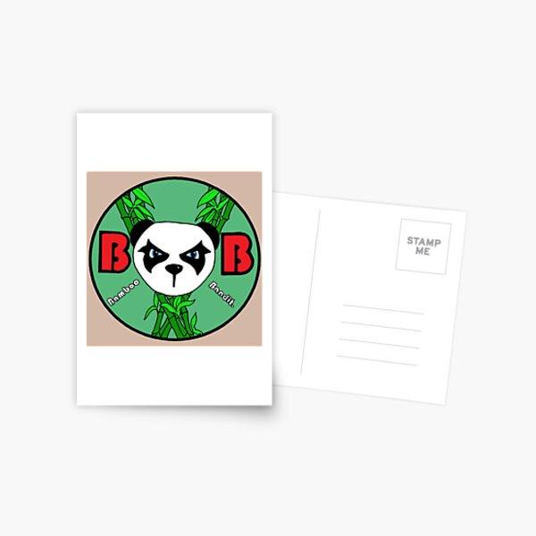 Bamboo Bandit Logo Postcard