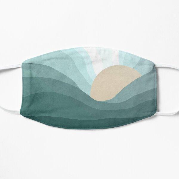 Blue sunrise landscape Mask