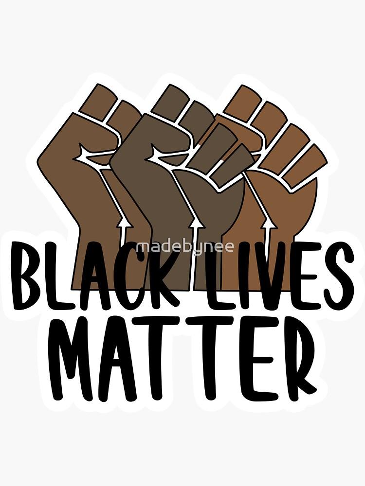 black lives matter by madebynee