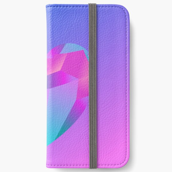 Crystal Heart iPhone Wallet