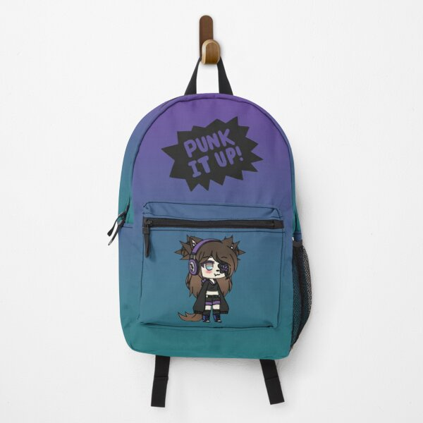 Gacha Life Series - Karin the strange goth girl with the eye patch Backpack