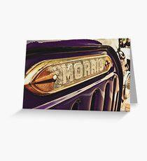 Classic Vehicles - Morris Greeting Card