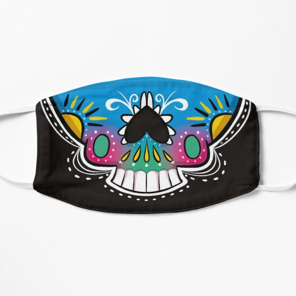 Day of the Dead Sun Face Mask  Mask