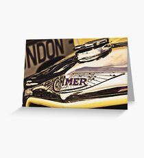 Classic Vehicles - Commer Badge Greeting Card