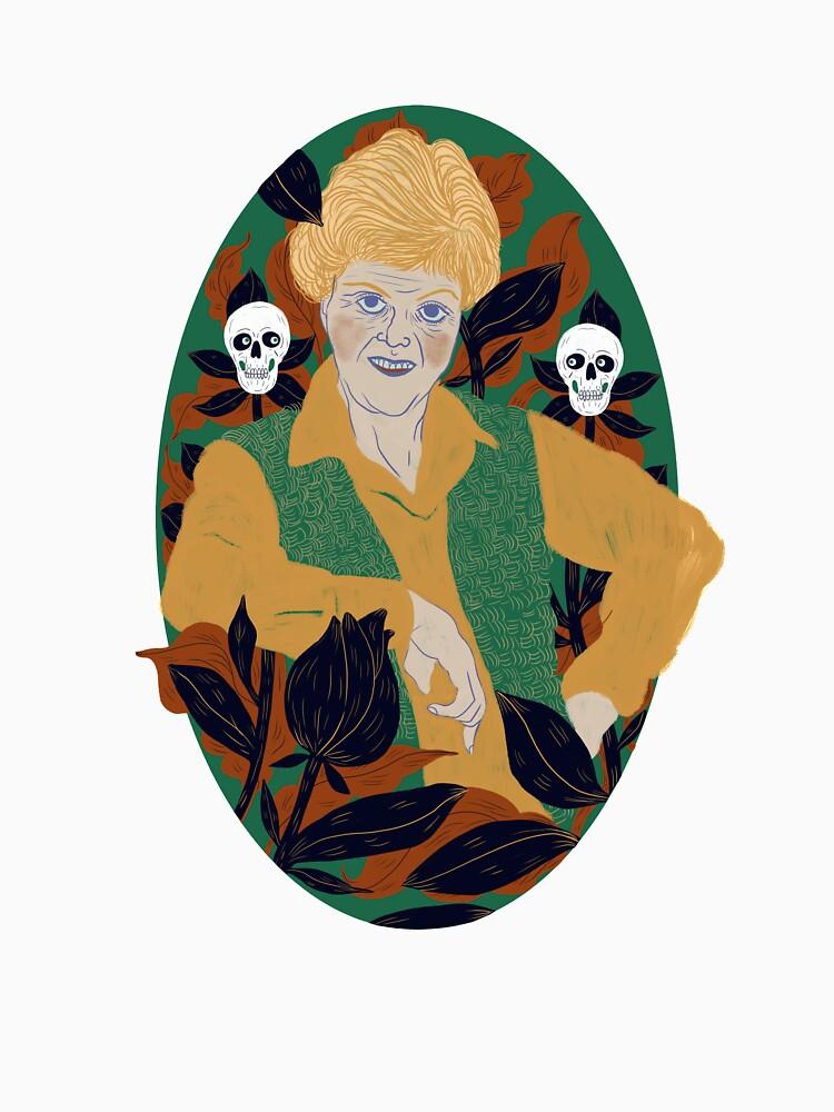 J.B. Fletcher Fan Art  by spoto